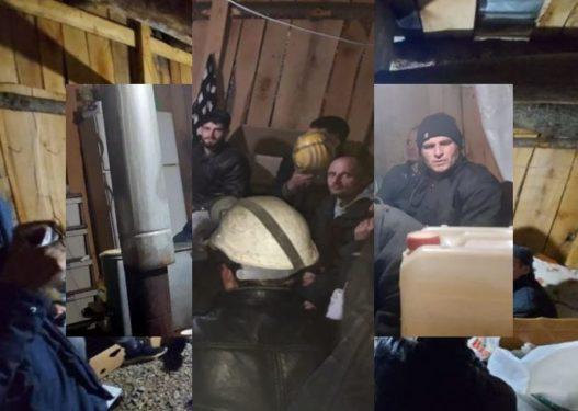 Një minator humbi jetën/ Dalin pamjet nga miniera në Dibër, familjarët presin me ankth të gjejnë dy të tjerët