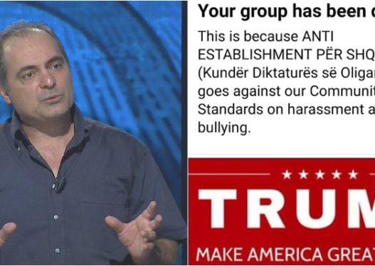 Zgjedhjet presidenciale në SHBA/ Facebook ç'aktivizon grupin e Altin Goxhajt me 26 mijë shqiptarë pro Trump