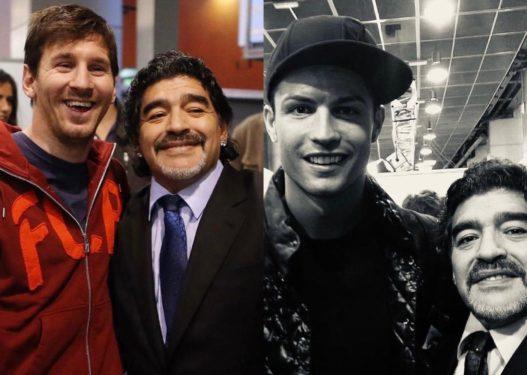 """""""Diego është i përjetshëm, nuk do të harrohet kurrë"""", Messi dhe Ronaldo reagojnë për humbjen e Maradonës"""