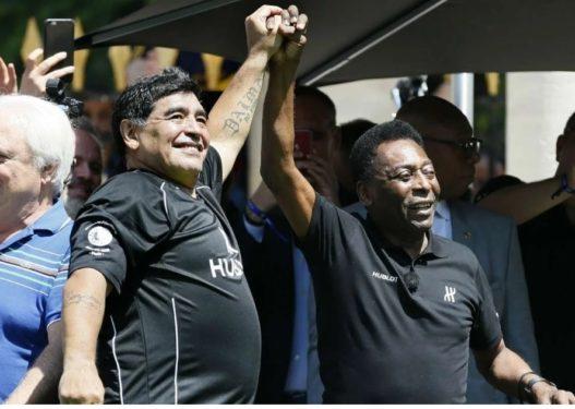 Pele reagon për humbjen e Maradonës: Shpresoj të luajmë të dy futboll në qiell