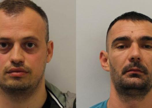Paund, kokainë dhe armë, dy shqiptarët në Angli dënohen me 18 vite burg