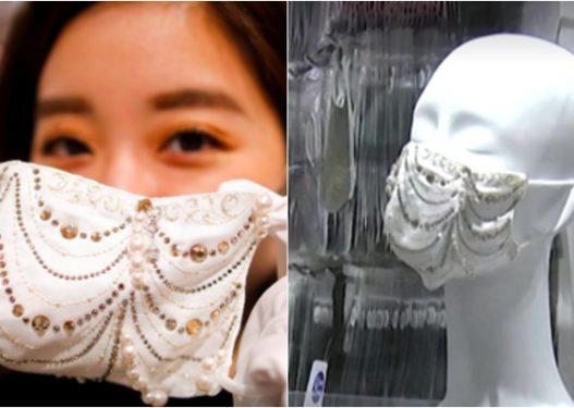 Kanë kursyer për këto ditë të vështira! Japonezët harrojnë pandeminë, shpenzojnë miliona Jen për maska me gur Swarovski