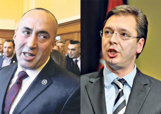Haradinaj-Vuçiçit: Njihni pavarësinë e Kosovës ose bashkohemi me Shqipërinë