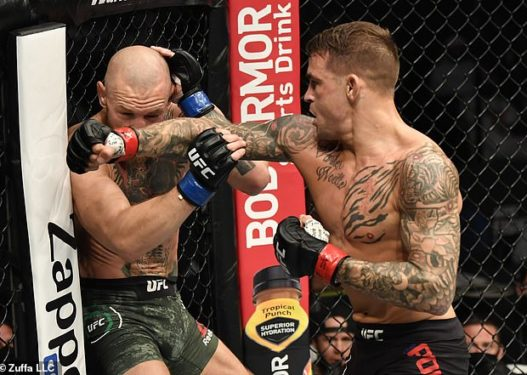 """Poirier i befason të gjithë, mposht McGregor me """"KO teknik"""" në raundin e dytë"""