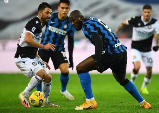 Interi 'ngec' kundër Udineses, humb mundësinë për të qenë kampion dimëror në Serie A