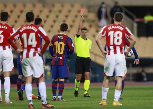 Nuk mjafton kartoni i kuq, Messi merr dënimin e radhës