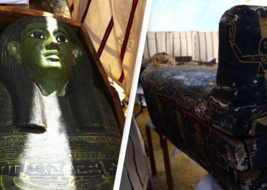 Arkeologët zbulojnë 54 arkivole prej druri në varret e lashta egjiptiane