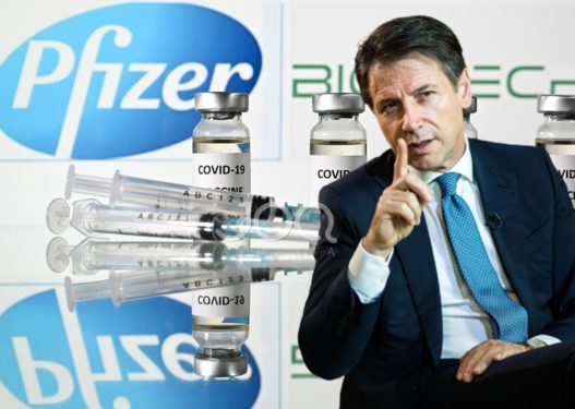 Revoltohet me vaksinat kryeministri italian, do hedhë në gjyq Pfizer dhe AstraZeneca!
