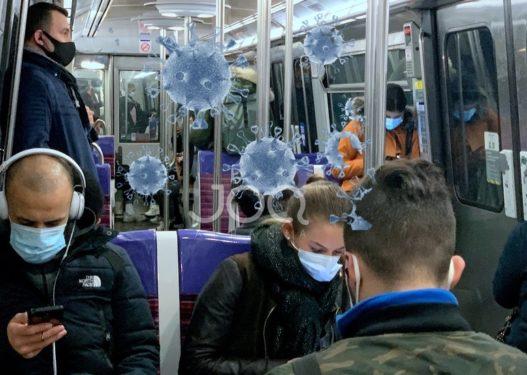 Franca ndalon komunikimin në tren dhe autobus: Përhapet Covid-i!