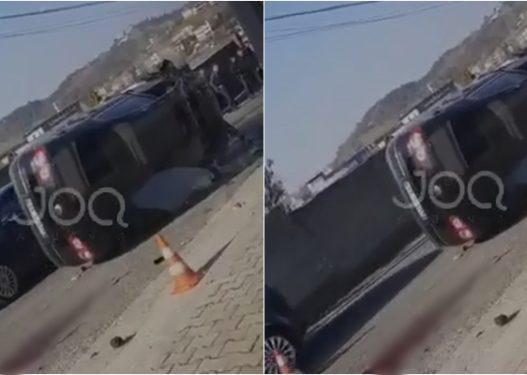 Ekskluzive/ Pamje nga aksidenti i frikshëm në Vorë ku humbi jetën një person