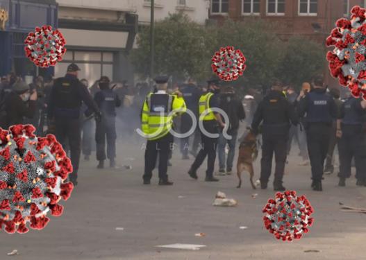 Rikthehen protestat! Irlandezët rebelohen me masat anti-Covid