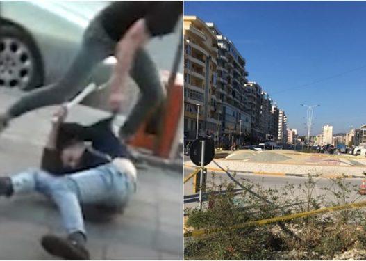 Ishte duke pirë kafe/ Të rinjtë futen në një lokal në Vlorë dhe bëjnë për spital një person