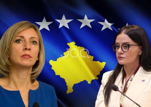 """""""Kosova është Serbi""""/ Ministrja i përgjigjet homologes ruse: Jeni përpjekur të fusni përçarje!"""