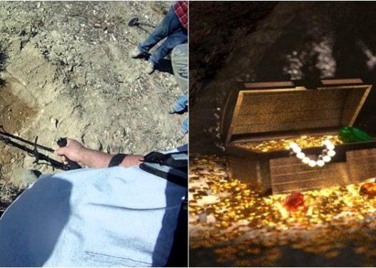 E pazakontë/ Po kërkonin për thesar në pyll, arrestohen 4 persona