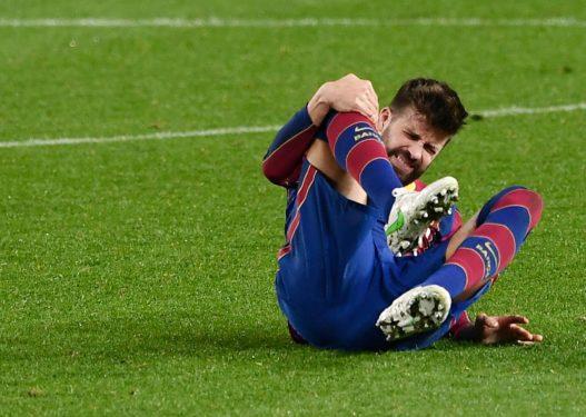 Shënoi golin vendimtar ndaj Sevillës, Pique dëmton ligamentin e gjurit