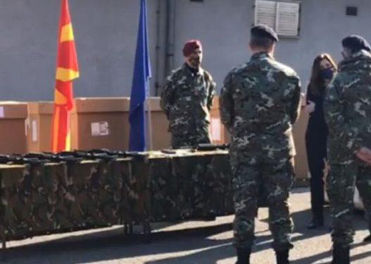 SHBA i dhuron Maqedonisë armatim në vlerë prej 1.2 milion dollarëve