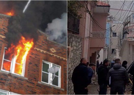Nxirret një trup i pajetë nga shtëpia e djegur në Berat, dyshohet edhe për dy të tjerë