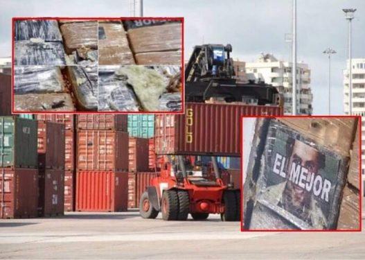 """El Mejor"" me foton e Pablo Escobar! Detaje nga kokaina e sekuestruar brenda konteinerit me banane"