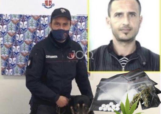 Kishte kthyer shtëpinë në 'dyqan kokaine', qentë anti-drogë zbulojnë shqiptarin në Itali