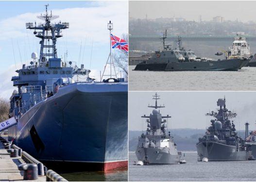 Prag lufte me Ukrainën? Rusia shton anijet luftarake në Detin e Zi
