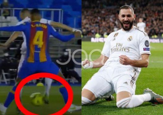 """Benzema turpëron Barcelonën, ndez """"El Clasico"""" me një gol spektakolar"""