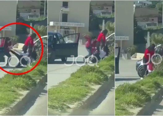 """Plas sherri mes vajzave në Durrës/ E reja nxirret me forcë nga """"Smarti"""", grushta dhe shpulla kokës"""