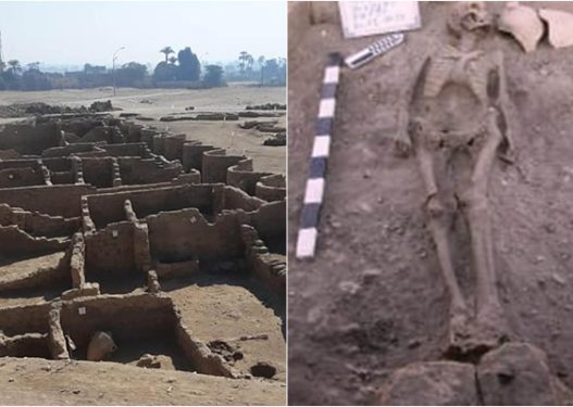 Mure të larta, mjete pune dhe furra antike/ Zbulohet qyteti egjiptian 3.000 vjeçar dhe i padëmtuar