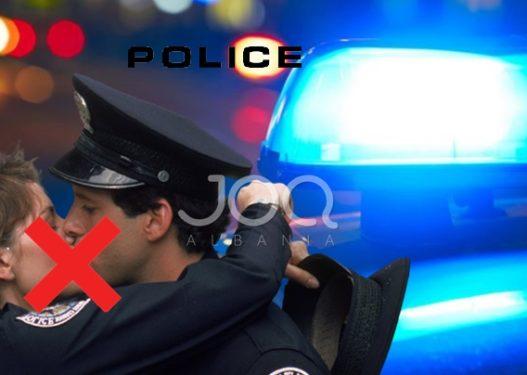 """Policët bëjnë """"namin""""/ Filmohen duke shkëmbyer puthje të zjarrta mbi 20 minuta"""