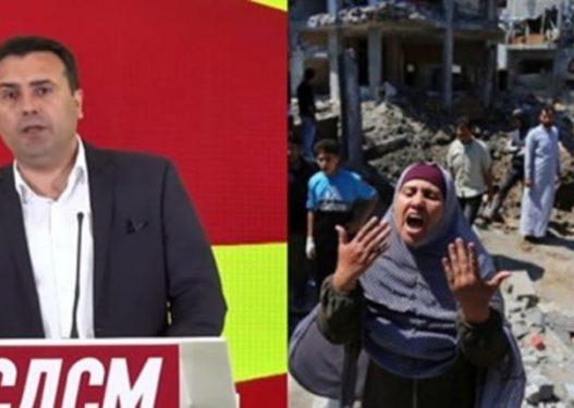 Zaev fton Izraelin dhe Palestinën të ulen në tryezë