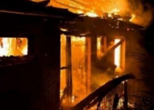 Zjarr në një kafiteri në Vushtrri