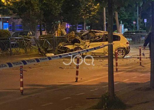 Aksidenti tragjik në Tiranë/ Policia identifikon viktimën, 33-vjeçari vdiq në vend