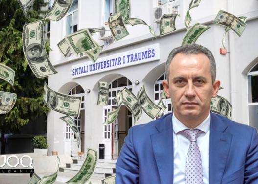 Skandal në Shëndetësi! Drejtori i Traumës i kursen shqiptarëve 90 mijë lekë, 600 Milionë ia jep oligarkëve