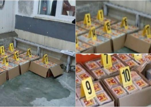 E ndarë në 17 kuti të vogla kartoni! Pamje nga sasia rekord e kokainës në Kosovë
