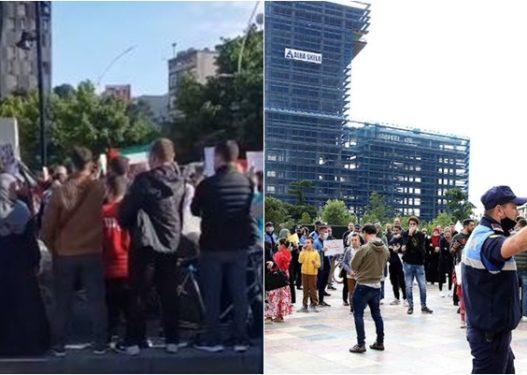 Protesta për Palestinën, procedohen penalisht 15 persona në Tiranë