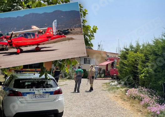 E rëndë në Greqi! Avioni privat bie në mes të fshatit, vdesin 2 persona