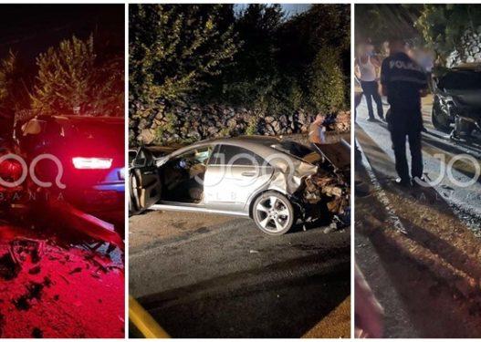 Aksident i rëndë mes tre makinash në Tropojë, qytetari: Dy të plagosur, njëri është foshnje!