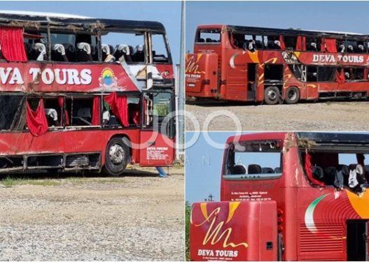 Tragjedia me 10 të vdekur në Kroaci, dalin pamjet e autobusit pas aksidentit tragjik