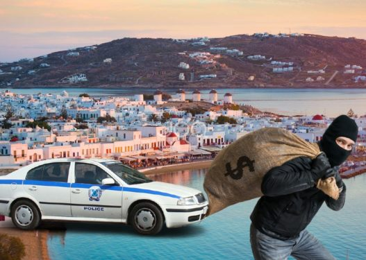 Tentuan të grabisnin vilat luksoze në ishullin e të pasurve/ Policia greke i prish planin dy shqiptarëve, plagoset një efektiv