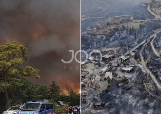 """Kaos në Turqi! Zjarre masive """"pushtojnë"""" vendin, shkon në 4 numri i viktimave"""
