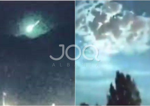 Shpërthim i çuditshëm në Turqi! Momenti kur qielli bëhet i gjelbër, spekulime për prezencën e UFO-ve