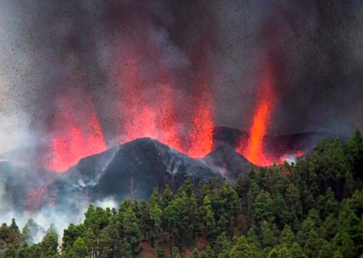 Alarm në Spanjë: Pas disa tërmeteve shpërthen vullkani në ishullin La Palma