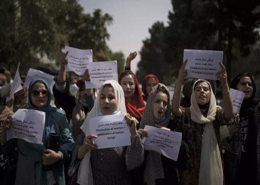 Gratë afgane dalin në protestë, kërkojnë të lejohen të studiojnë e punojnë
