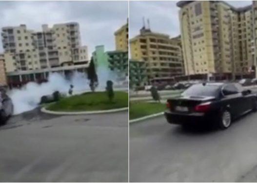 Drift në mes të Lezhës/ Kush janë dy shoferët që xhironin gomat, i postonin në rrjetet sociale?