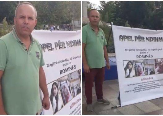 Agron Mehmeti kërkon ndihmë për vajzën me leucemi, qytetari: Nuk është mashtrim, Romina është sëmurë