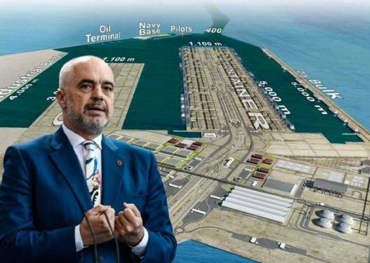 Rama del sërish blof/ Projekti i Ri i Portit të Durrësit i vjedhur në Irak