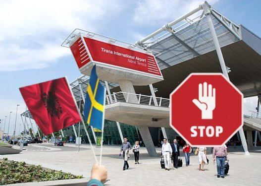 Suedia mbyllet për shqiptarët, heq Shqipërinë nga lista e vendeve të sigurta