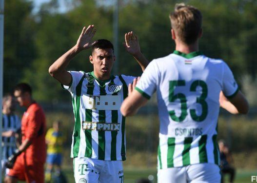 Myrto Uzuni i pandalshëm te Ferencvarosi, shënon 6 gola në një ndeshje