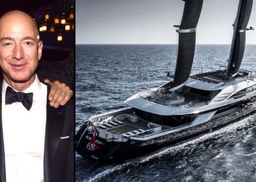 Dalin pamjet e para nga jahti madhështor i Jeff Bezos me vlerë 500 MLN $