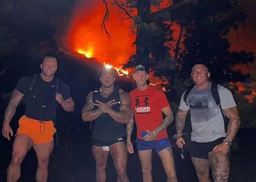 Katër djemtë muskulozë thyjnë rrethimin e ushtrisë, bëjnë foto në vullkanin La Palma: Marrin avion dhe varkë!