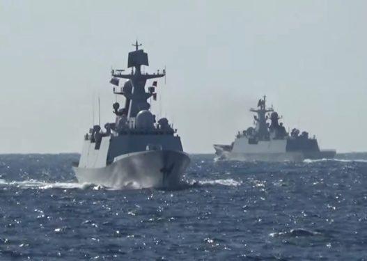 Rusia dhe Kina mbajnë patrullën e parë të përbashkët në Oqeanin Paqësor